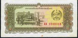 LAOS P27 10 KIP 1979  # ZA          AU - Laos