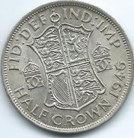 United Kingdom / Great Britain - 1946 - George VI - ½ Crown - KM856 - 1902-1971 : Monete Post-Vittoriane