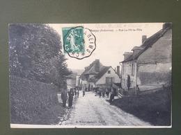 HERPY- Rue  La-Mi-La-Ville- Cachet Ambulant: CHARLEVILLE A REIMS - Francia