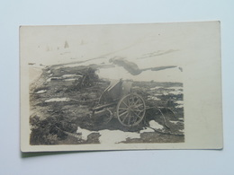 Austria 2193  Foto Photo  KuK K.u.k. WWI Osterreich Ungarn Military 1916  Canon Granatwerfer - Guerre 1914-18