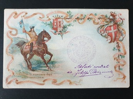 Cartolina Reggimentale - Viaggiata R64 - 1900-44 Vittorio Emanuele III