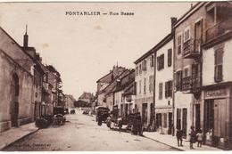 DEP 25 PONTARLIER RUE BASSE - Pontarlier