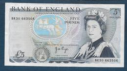 Grande Bretagne -  Billet 5 Pounds - 5 Pounds