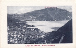 Cartolina Lago Di Garda - Riva Panorama. 1920 Ca. - Italia