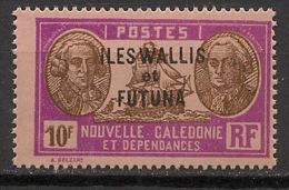 Wallis Et Futuna - 1930-38 - N°Yv. 64 - Bougainville 10f - Neuf Luxe ** / MNH / Postfrisch - Wallis Und Futuna