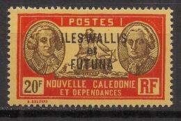 Wallis Et Futuna - 1930-38 - N°Yv. 65 - Bougainville 20f - Neuf Luxe ** / MNH / Postfrisch - Wallis Und Futuna