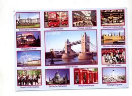 Carte Londres Multi  Indexe Tour - Londres