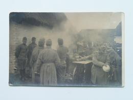 Austria 2200  Foto Photo  KuK K.u.k. WWI Osterreich Ungarn Military 1916 Florian Godl Troppau Feldkitchen - Guerre 1914-18
