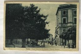 CANINO   - PIAZZA COSTANTINO DE ANDREIS - VIAGGIATA 1947 - Viterbo