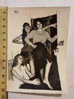 Photo Vintage. Original. Filles érotiques à La Fête. - Erotiques (...-1960)