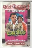 CINÉCARTE - CARTE CINÉMA - MAJESTIC -  Vesoul N°2 - Movie Cards