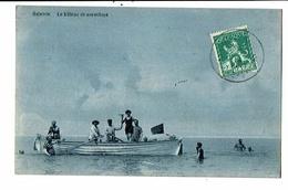 CPA-Carte Postale-Belgique-Ostende - Bateau De Sauvetage-1913-VM16734 - Oostende
