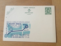 KS3 Belgien Ganzsache Stationery Entieer Postal P 183B - Postwaardestukken
