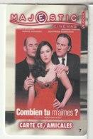 CINÉCARTE - CARTE CINÉMA - MAJESTIC -  Vesoul N°7 - Movie Cards