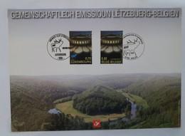 """Belgique C.S. N°3676 """" émission Commune Luxembourg """" 2007 - Cartes Souvenir"""
