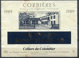 1825 - France - Corbières - 1989 - Château De Montrabech - Celliers Du Colombier - Languedoc-Roussillon