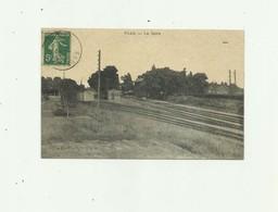 34 - VIAS - La Gare Bon état - Other Municipalities
