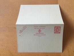 KS3 Belgien Ganzsache Stationery Entieer Postal P 182I - Postwaardestukken