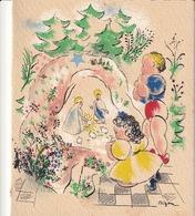 Carte De Voeux Noel Illustrateur Mizon - Vieux Papiers