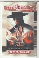 CINÉCARTE - CARTE CINÉMA - MAJESTIC -  Vesoul N°12 - Movie Cards