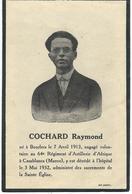 Souvenir Mortuaire - COCHARD RAYMOND - BOURLERS 1913 - CASABLANCA 1932 - Images Religieuses