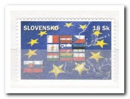 Slowakije 2004, Postfris MNH, Accession To The EU - Ungebraucht