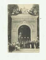 34 - CLERMONT L'HERAULT - Arc De Triomphe De L'étoile Sportive Belle Animation Bon état - Clermont L'Hérault