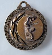 Médaille Ancienne Victoire De Samothrace - France