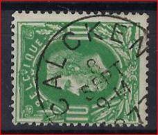 Nr. 30 Met Stempel CALCKEN ; Staat Zie Scan ! Inzet Aan 2 €  ! - 1869-1883 Léopold II
