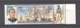 Chili :  Yv 883-84  **   Bateau - Boat - Chile