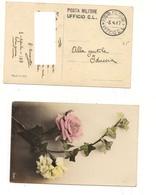 3703) 1^WW POSTA MILITARE UFFICIO CL LINEARE E GULLER 1917 - 1878-00 Humbert I