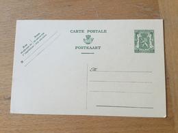 KS3 Belgien Ganzsache Stationery Entieer Postal P 187 - Postwaardestukken
