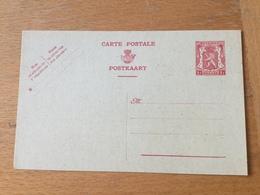 KS3 Belgien Ganzsache Stationery Entieer Postal P 199I - Postwaardestukken