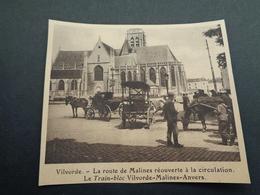 """Origineel Knipsel ( 4070 ) Uit Tijdschrift """" 1914 Illustré """" Guerre Oorlog  :   Vilvorde   Vilvoorde - Vieux Papiers"""