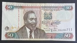 RS - Kenya 50 Shillings Banknote 2010 #0075394 - Kenya