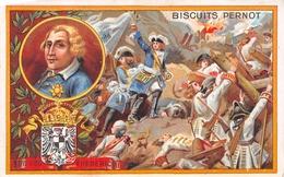 Chromo - Biscuits PERNOT, Dijon - Frédéric II Dit Le Grand, Roi De Prusse Né à Berlin, Mort à Postdam - Pernot