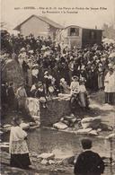 S20-041 Gestel - Fête De ND Des Fleurs Et Pardon Des Jeunes Filles - La Procession à La Fontaine - Other Municipalities