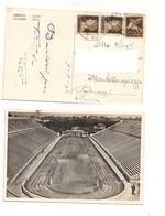 3736) WW2 POSTA MILITARE 23 GRECIA ATENE STADIO 1942 AEREA - Marcophilie