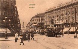 MILANO - VIA DANTE - NON VIAGGIATA - Milano (Milan)