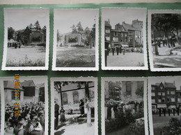 13 Foto's Hulde Gesneuvelde 14 18 40 45 Marine Zeemacht Leger Soldaat Landmacht Pater Don Gregorius Ca. 1950 Dendermonde - Guerre, Militaire