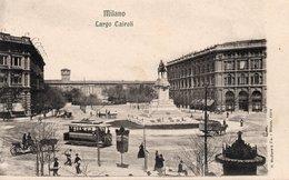 MILANO - LARGO CARIOLI - 2 - NON VIAGGIATA - Milano (Milan)