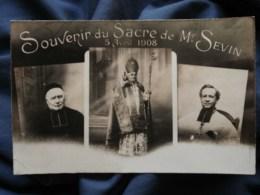 Souvenir Du Sacre De Mgr Sevin 05 Avril 1908, Evêque De Chalons/Marne Non Circulée L498M - Christianisme