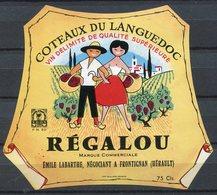 1845 - France - Côteaux Du Languedoc - V.D.Q.S. - RÉGALOU - Emile Labarthe - Languedoc-Roussillon