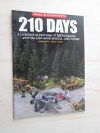 BACVERTCAGIBI / Figurines KING & COUNTRY / Brochure 210 DAYS 24 Pages MAGNIFIQUEMENT ILLUSTREES - Militares