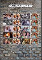 GROSSBRITANNIEN GRANDE BRETAGNE GB 2020 CORONATION STREET SMILLERS MNH SG F4358-65 - Blocs-feuillets