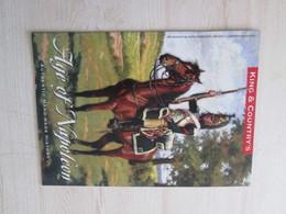 BACVERTCAGIBI / Figurines KING & COUNTRY / Brochure AGE OF NAPOLEON 16 Pages MAGNIFIQUEMENT ILLUSTREES - Militares