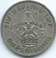 United Kingdom / Great Britain - 1947 - 1 Shilling - George V - KM864 - Scottish Crest - 1902-1971 : Monete Post-Vittoriane