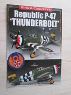 BACVERTCAGIBI / Figurines KING & COUNTRY / Brochure P-47 THUNDERBOLT 4 Pages MAGNIFIQUEMENT ILLUSTREES - Militares