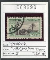Spanien - Span. Tanger - Telegrafos Espana - Oo Oblit. Used Gebruikt - Telegrafi