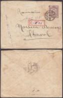Iran 1888-1904 - Entier Postal  Sur Lettre Recommandée De Perse De 1420x1100mm ............   (8G-20802) DC-7469 - Iran